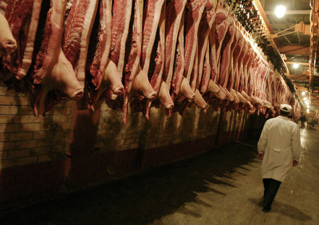 俄工商会主席期待中国近期将向俄罗斯开放猪肉市场