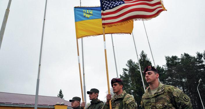 美国会为军事援助乌克兰拨款2亿美元
