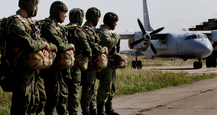 媒体:俄伞兵将获得独特的降落伞装备