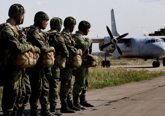 普京總統對空降部隊戰士和老兵致以建軍85週年祝賀