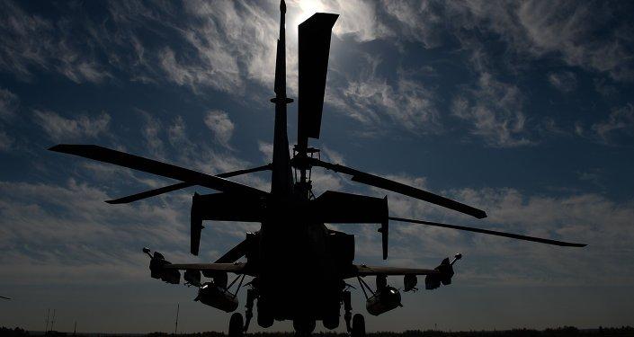 卡-52「短吻鰐」武裝直升機