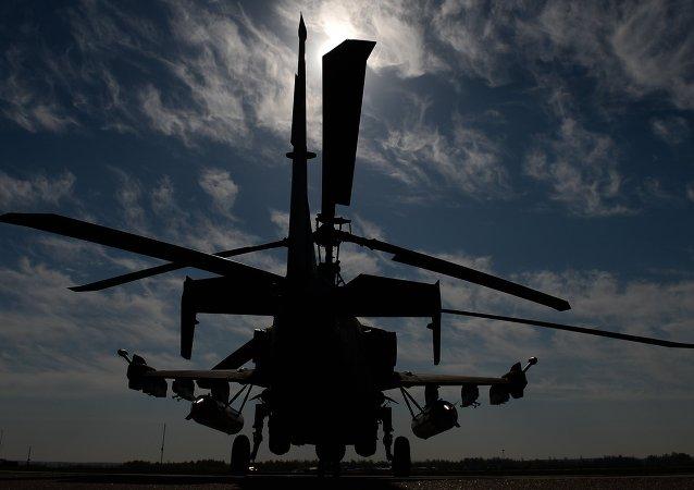 """卡-52""""短吻鳄""""武装直升机"""