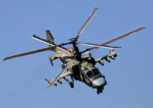 俄国防部:首批KA-52直升机将在2017年进入俄空天部队