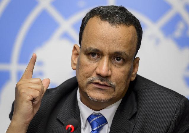 聯合國也門問題特使伊斯梅爾•烏爾德•謝赫•艾哈邁德