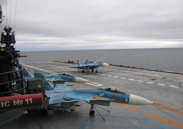 """""""库兹涅佐夫海军上将""""号航母将能在复杂气象条件下遂行任务"""