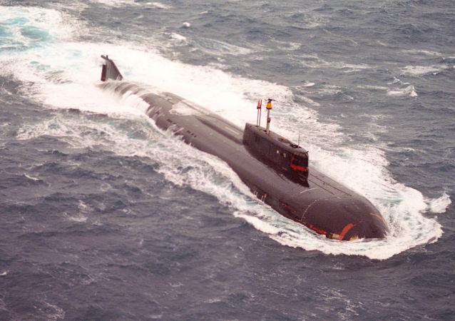 俄罗斯潜艇在巴伦支海/资料图片/