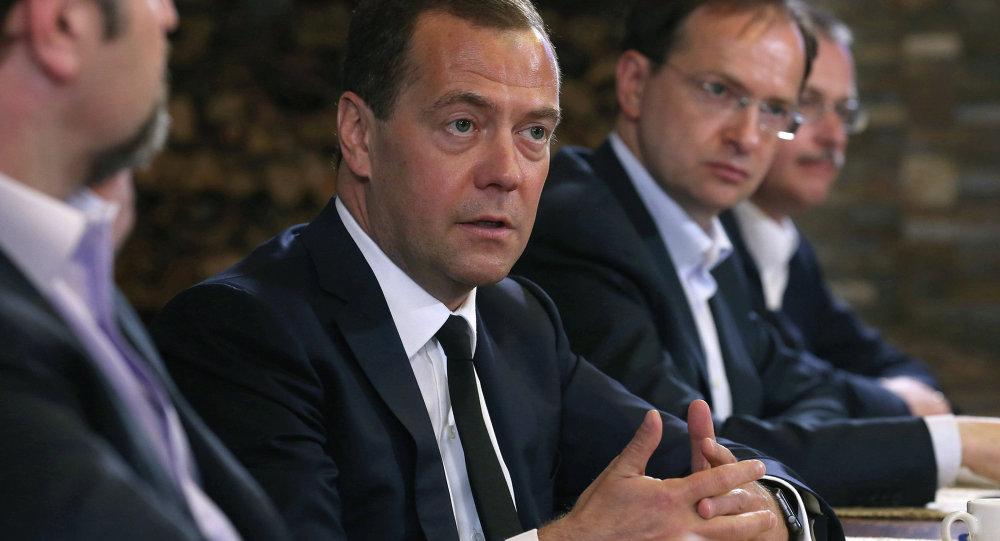梅德韦杰夫:俄乌当前问题和困难是暂时的