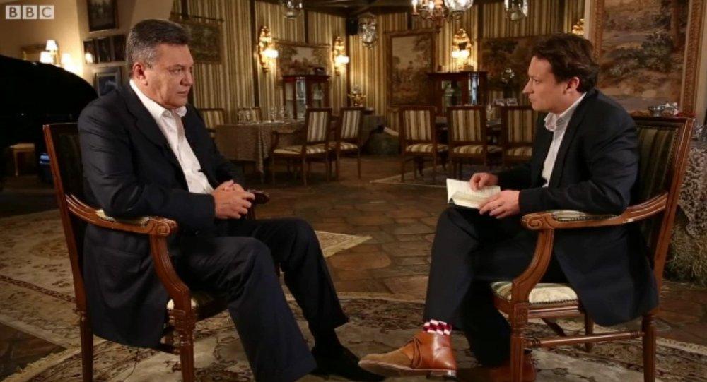 BBC删减乌前总统采访英文版中论及克里米亚的言论
