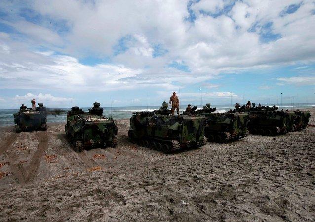 南海:美國像往常一樣慢幾步