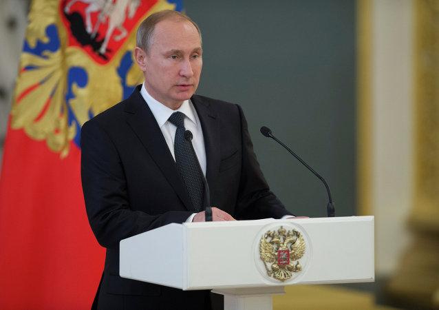 普京:俄方将在维也纳进程下继续尝试达成反恐共识