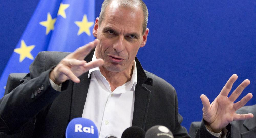 希臘財政部長瓦魯法基斯