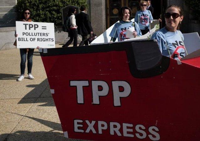 研究顯示TPP將拖美日經濟後腿