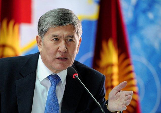 吉总统:若吉塔边境情况不佳 将不出席塔什干上合峰会