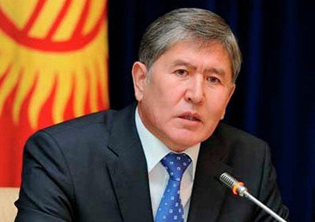阿尔马兹别克·阿坦巴耶夫总统