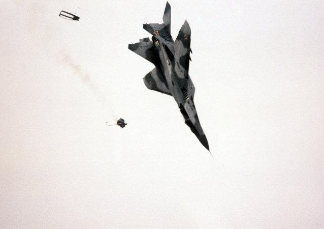 米格-29發動機技術故障可能為墜機原因