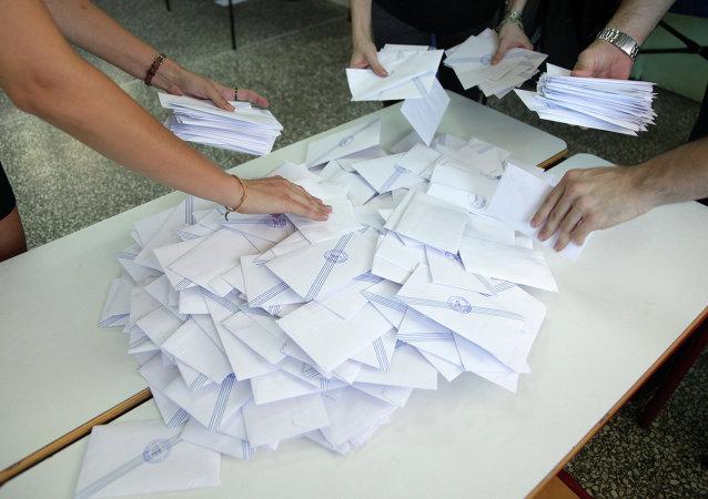 希腊决定国家未来的全民公决落下帷幕