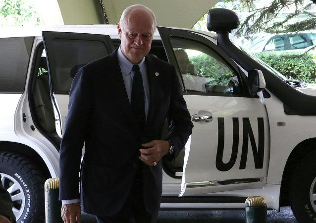 聯合國敘利亞問題特使德米斯圖拉