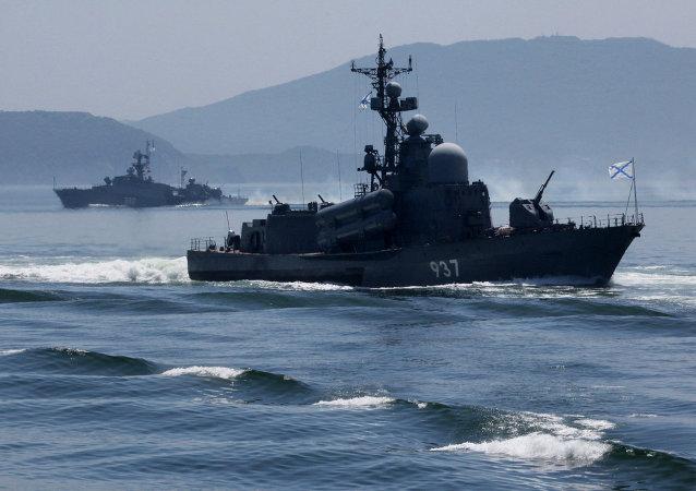俄北方舰队将进行导弹射击演习