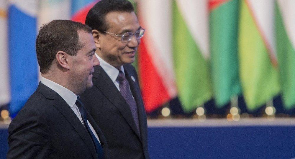 梅德韋傑夫:俄中合作正成為國際政治越來越重要因素