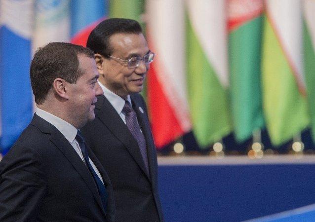 俄總理將於9月在聖彼得堡會見中國總理