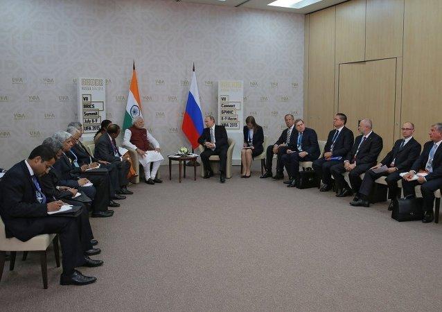 普京:上合組織開啓接納印度為正式成員的進程