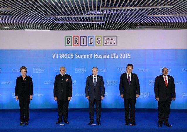 金砖国家领导人