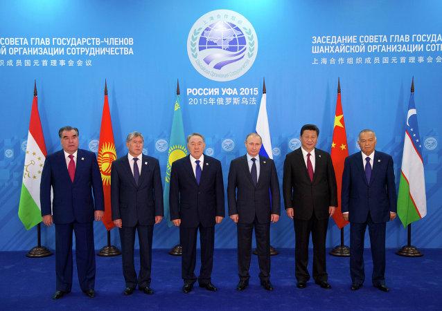 在乌法举行的上合组织峰会