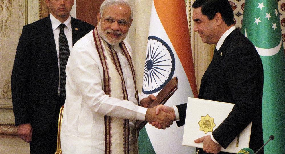 土库曼斯坦总统:土库曼斯坦 – 阿富汗 – 巴基斯坦 – 印度天然气管道建设