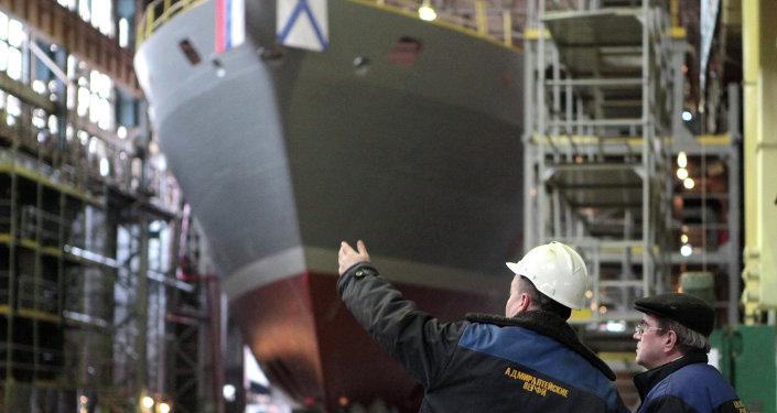 媒體:印度對俄羅斯新式21300型救援艦感興趣