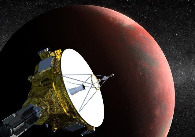 美国新视野号探测器已接近冥王星