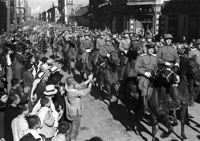 哈尔滨,1945年8月