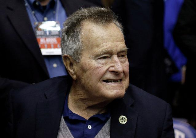 乔治﹒布什成为美国史上最长寿的总统