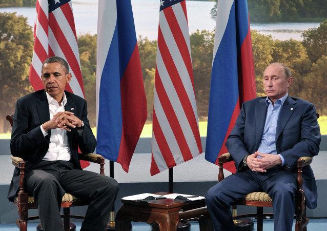 普京與奧巴馬