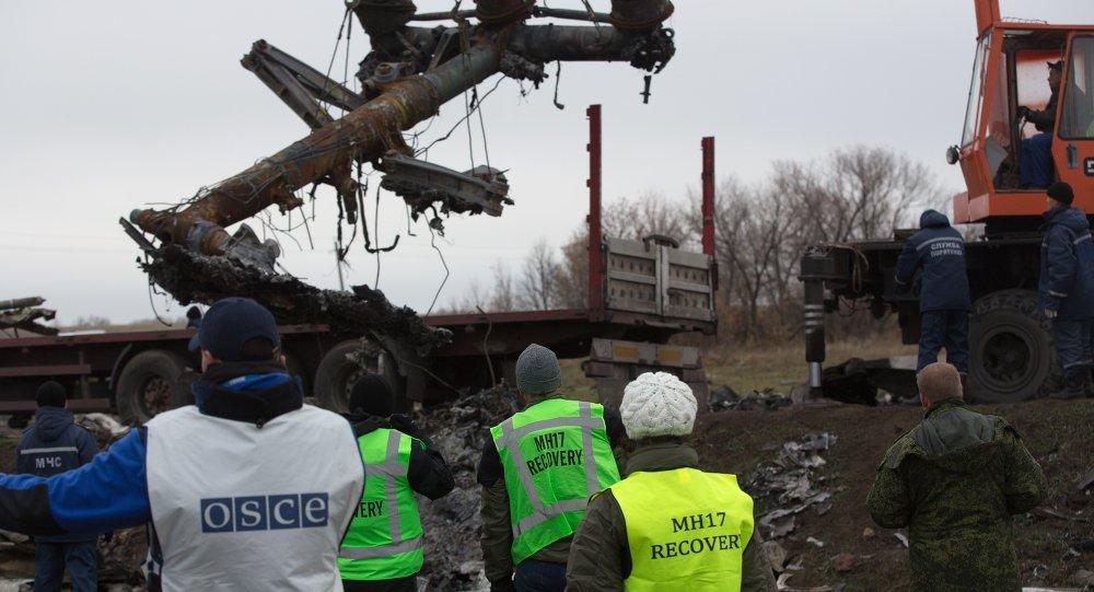 荷兰安全委员会称马航MH17波音客机是被9М38导弹击落的
