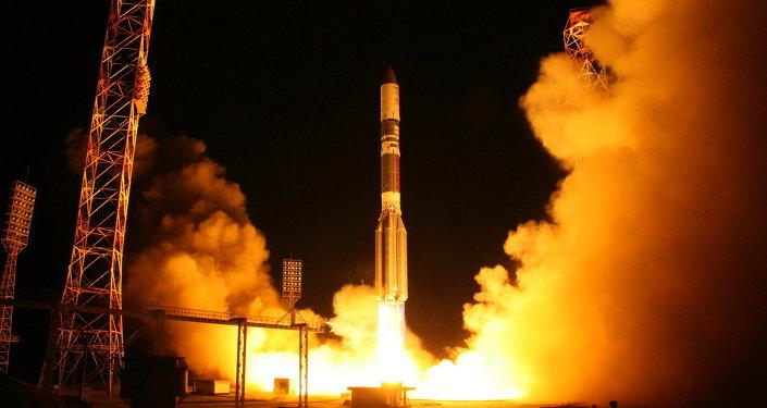 """""""质子-M""""号在5月事故后首次将卫星送入轨道"""