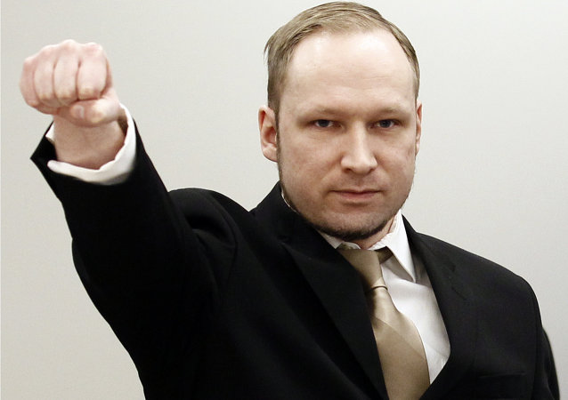 挪威恐怖分子布雷维克被奥斯陆大学录取 将学习政治学
