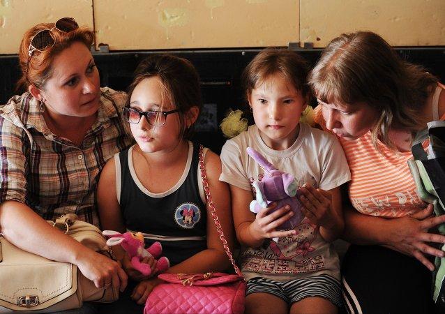 近4000名顿涅茨克共和国儿童在俄康复中心疗养