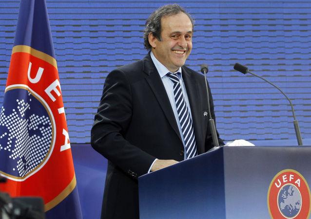 歐足聯主席普拉蒂尼提出自己參選國際足聯主席