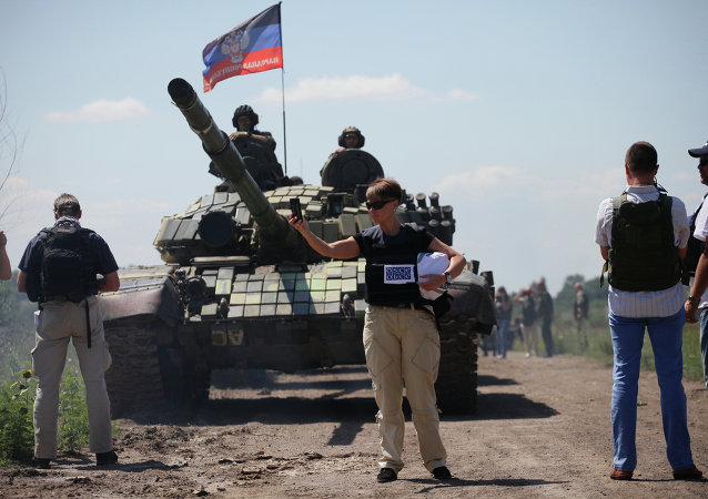 顿涅茨克人民共和国正在后撤100毫米口径以下武器