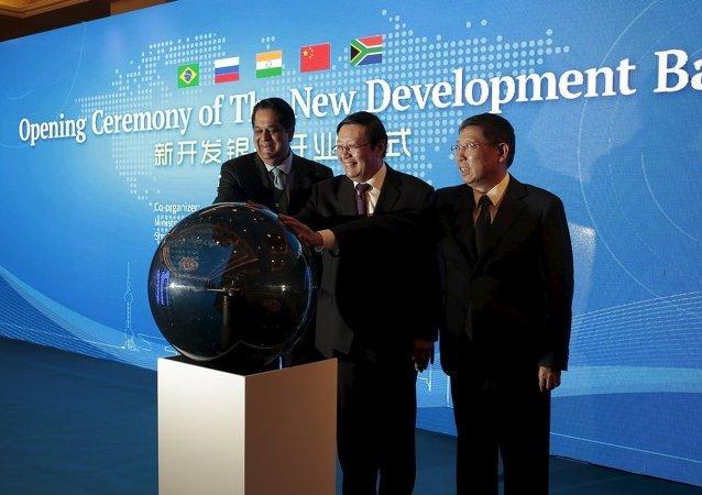 金砖国家财长将与三大评级机构代表讨论新开发银行信用评级问题