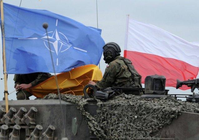 北约军队, 波兰旗帜/资料图片/