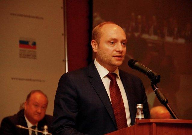 俄羅斯遠東發展部長亞歷山大∙加盧什卡