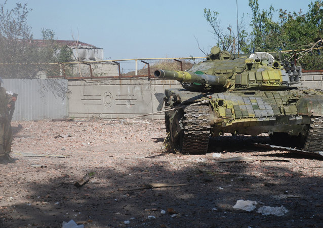 頓巴斯繼續撤離重武器協議或將在近日內簽署
