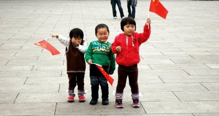 中國孩子們