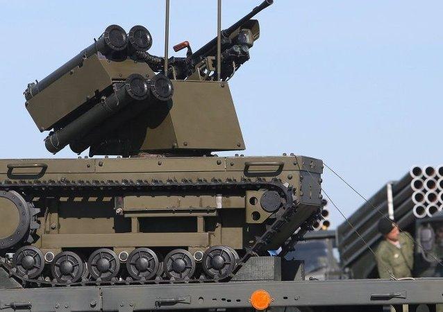 俄「Platform-M」戰鬥機器人