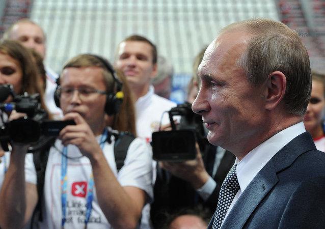 克宮尚不確定普京是否會出席俄羅斯隊對戰克羅地亞隊四分之一決賽