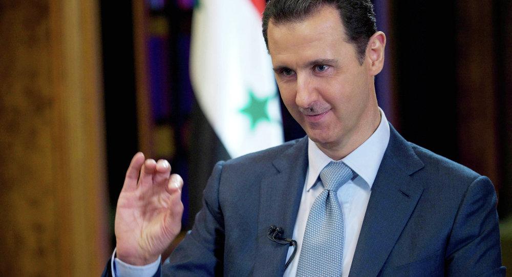 叙利亚总统:中叙情报机关正合作打击维吾尔恐怖分子