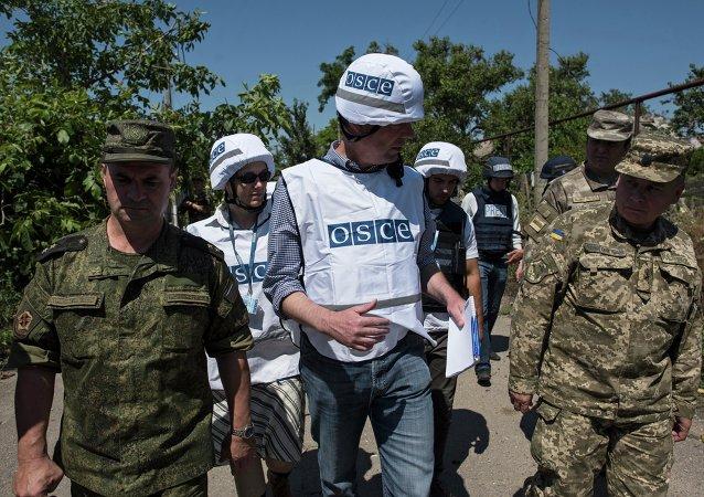 歐安組織稱一名觀察團工作人員在烏東部失蹤