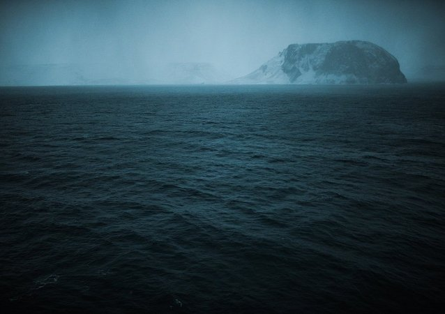 北冰洋的拉普捷夫海