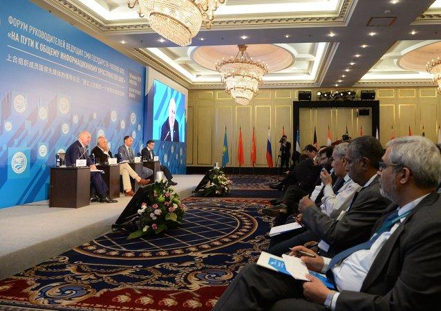 中國國際台東歐分站站長建議將上合組織主流媒體領導者論壇機制化